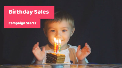 Birthday Sales