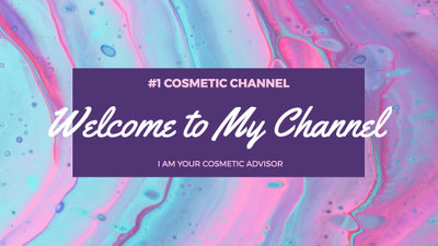 Cosmetic Youtube Channel Trailer
