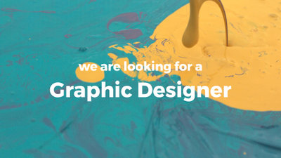 Graphic Designer Recruitment