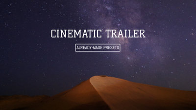 Movie Trailer Template