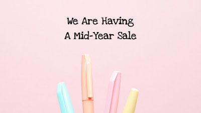 Stationery Mid Year Sale