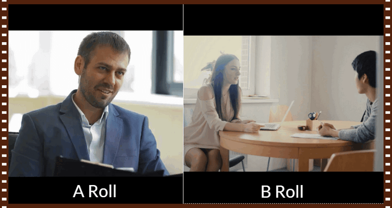 what is a-roll and what is b-roll