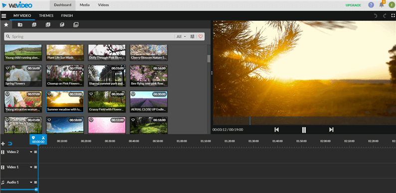 Free Online Video Editor No Download - WeVideo