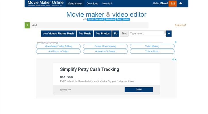 online movie maker free no sign up