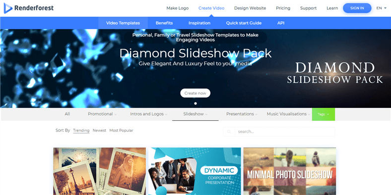 free video and photo slideshow maker