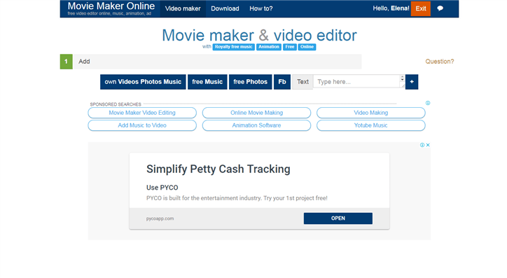 Best Free Video Editor for YouTube - Movie Maker Online