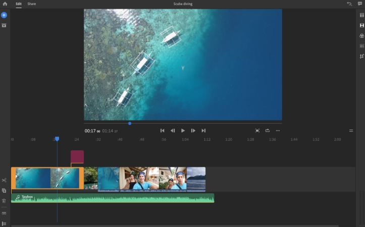 Best Free Video Editor for YouTube - Premiere Rush