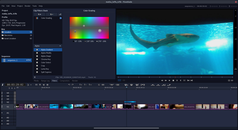 Best Video Editing Software for Linux - Flowblade