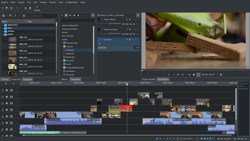 Best Video Editing Software for Linux - Kdenlive