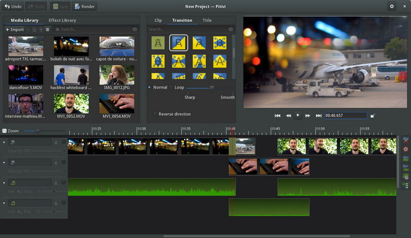 Best Video Editing Software for Linux - Pitivi