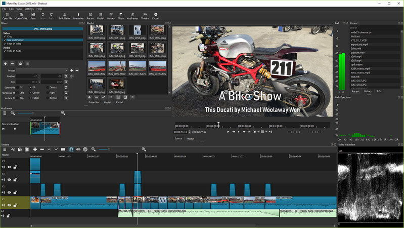 Best Video Editing Software for Linux - Shotcut