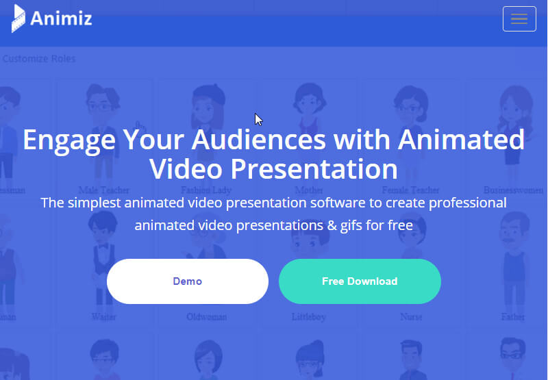 Animiz cartoon video maker