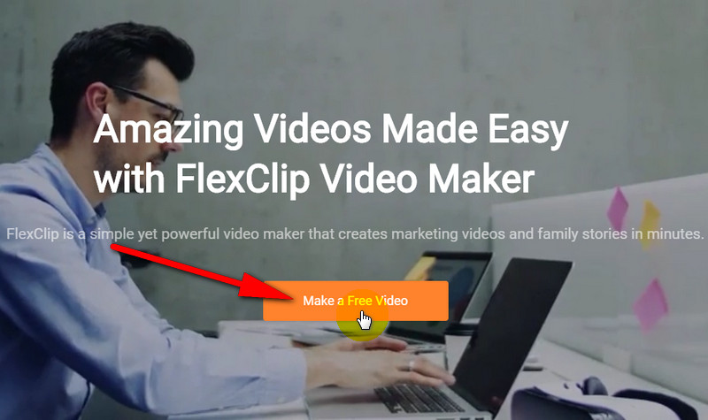 FlxClip Homepage