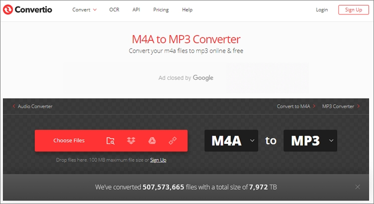 How to Convert M4A to MP3 Online - Convertio