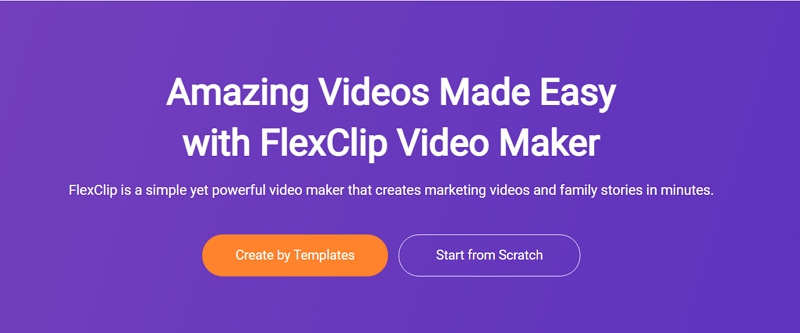 How to Make A Video Online for Free - Step 1