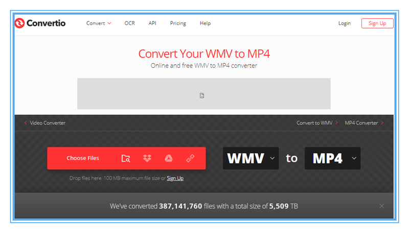 How to Convert WMV to MP4 with Convertio