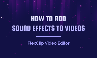 add sound effects to videos