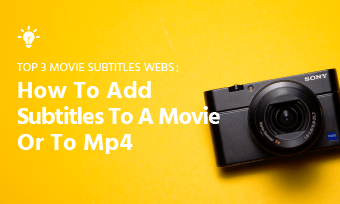 add subtitles to movie