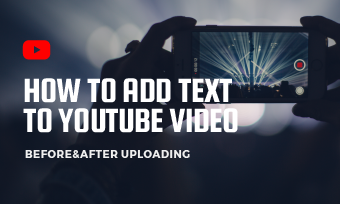 add text to youtube video