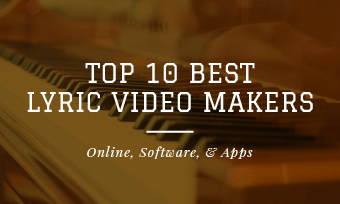 best lyric video maker