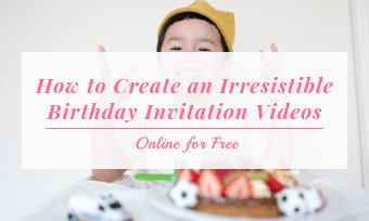 birthday invitation video
