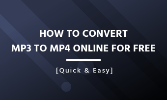 convert mp3 to mp4