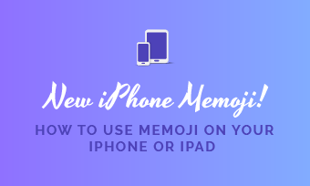 create customise and use memoji