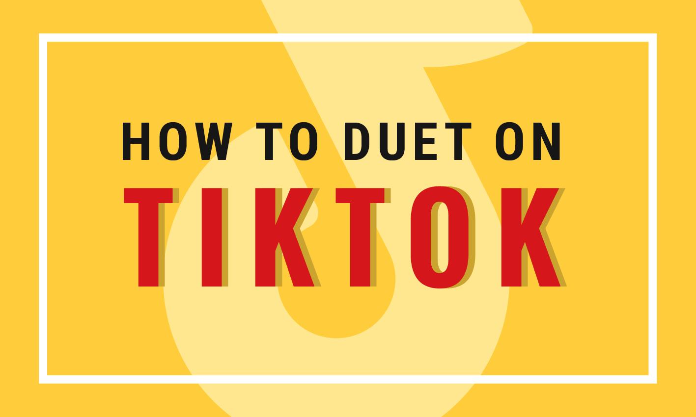 How To Make Duet On Tik Tok Youtube