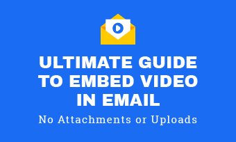 embed video in email