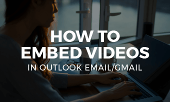 embed video in outlook email