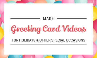 greeting card video