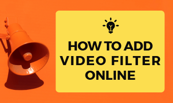 how to add video filter