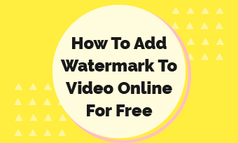 how to add watermark to video