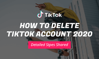 how to delete tiktok account