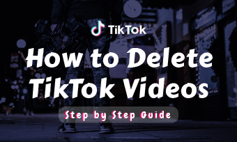 how to delete tiktok videos