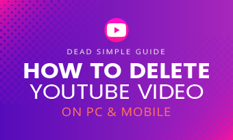 how to delete youtube videos