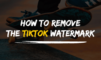 how to remove tiktok watermark