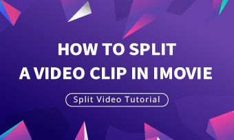 how to split a video in imovie