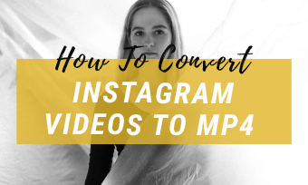 instagram to mp4 converter