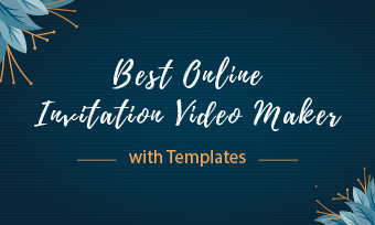 invitation video maker with templates