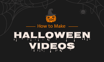make halloween videos