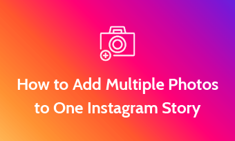 put multiple pictures on instagram story
