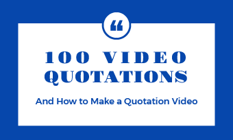 quotation video