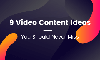 video content ideas