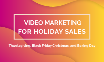 video marketing boxing day sales