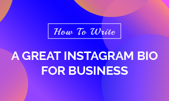 write a great instagram bio for business