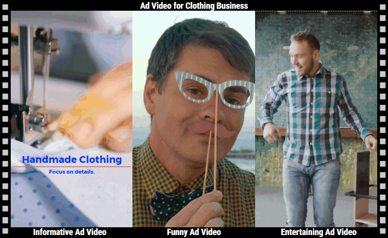 Informative Ad video VS funny Ad video Vs entertaining Ad video