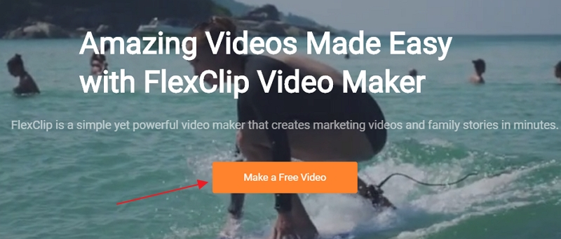 How to Crop YouTube Videos with FlexClip - Step 1