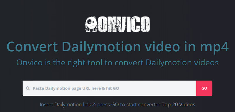 Dailymotion to MP4 Converter - Onvico.com