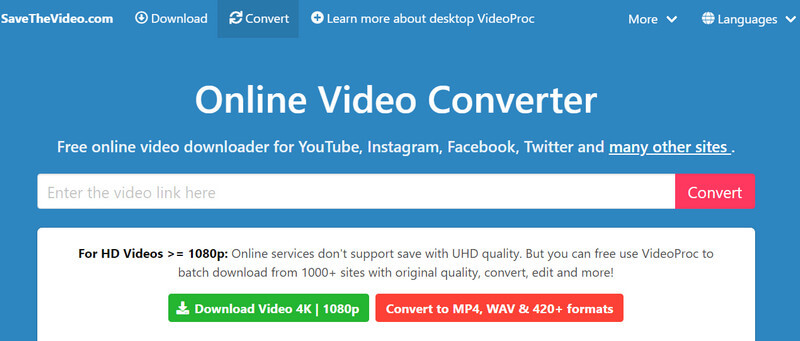 Dailymotion to MP4 Converter - SaveTheVideo.com